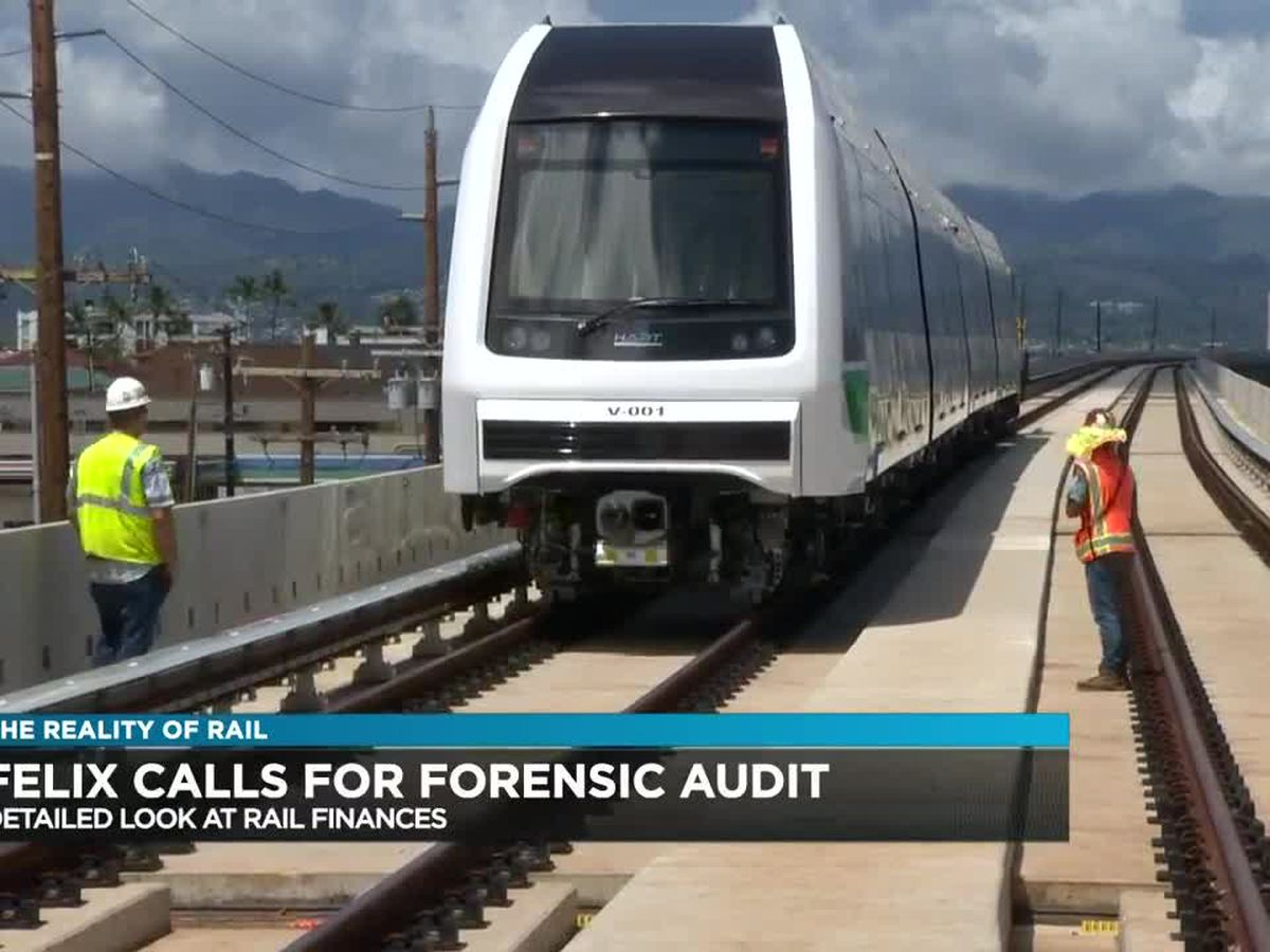 John Henry Felix talks about a forensic audit on rail