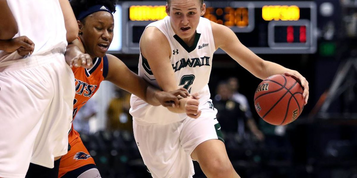 Wahine stay unbeaten at home with 62-50 win over UT San Antonio