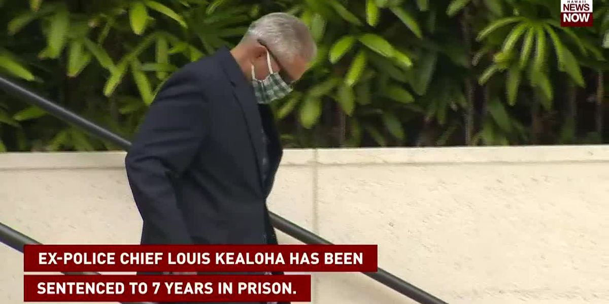 Ex-Police Chief Louis Kealoha has been sentenced to 7 years in prison