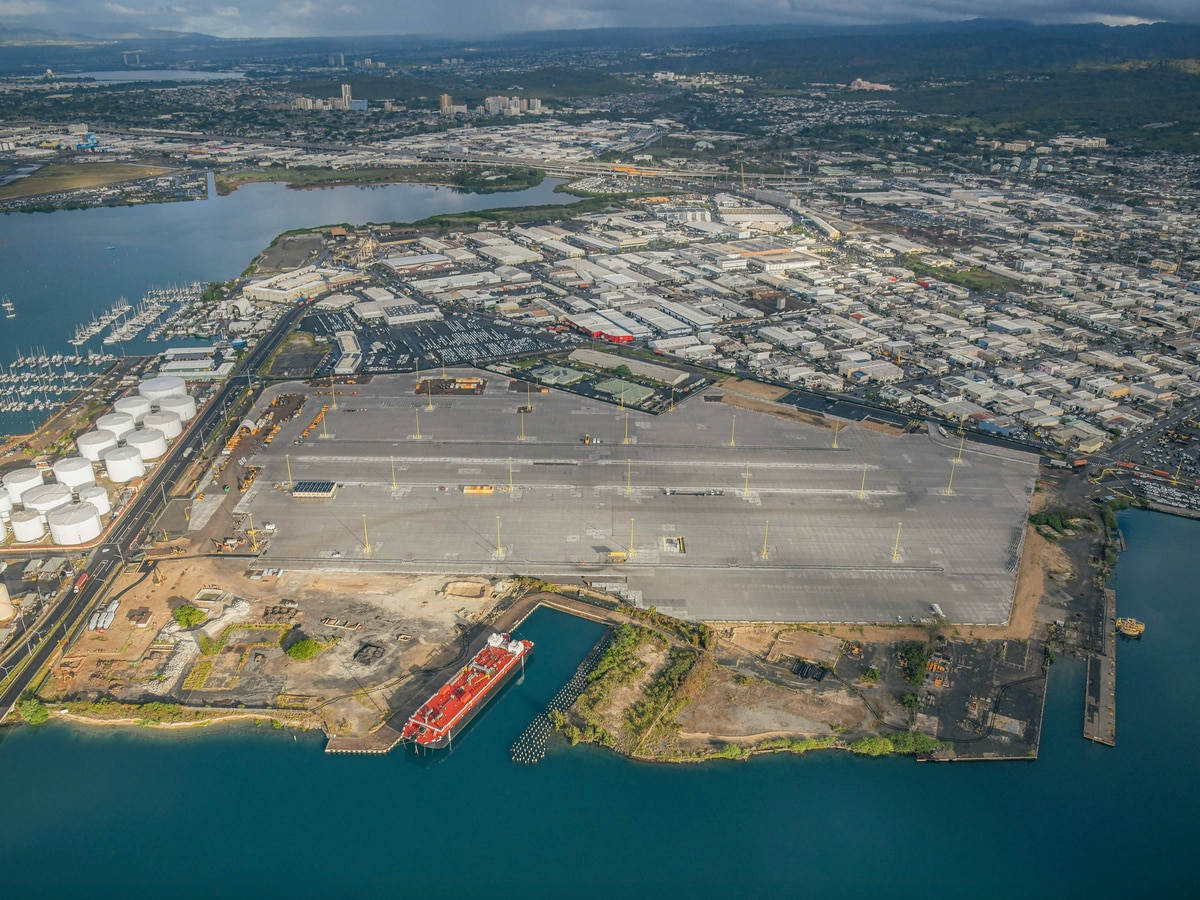 Half-billion dollar container terminal makeover to benefit Hawaii's cargo industry