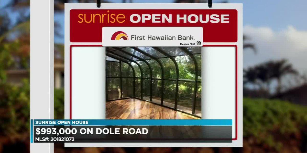 Sunrise Open House: Wahiawa