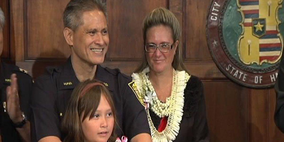 Kealoha sworn in as Honolulu's new police chief