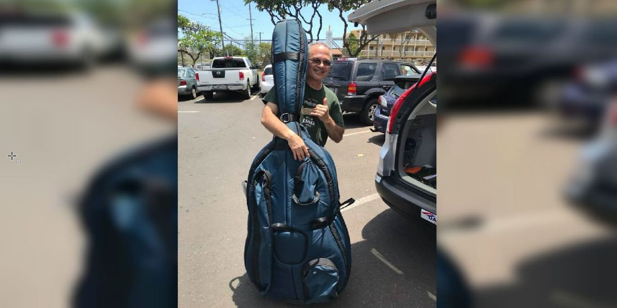 A day after it was stolen, a Hawaiian musician is reunited with a priceless item