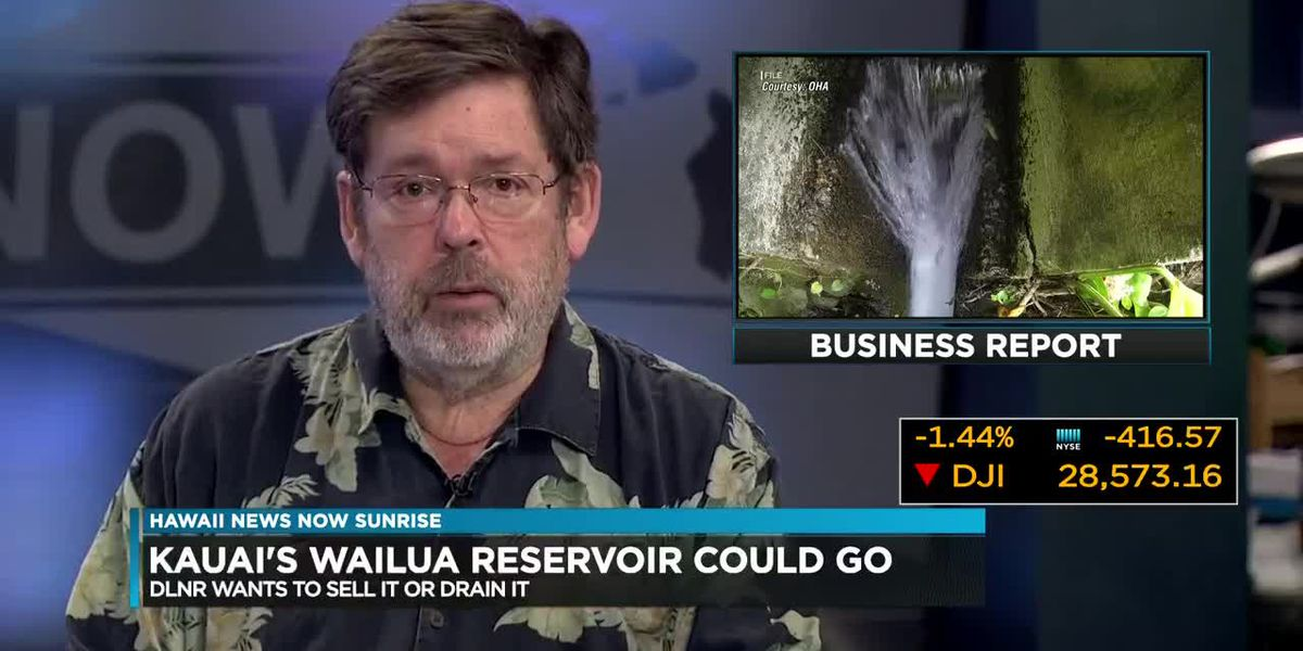 Business Report: DLNR is in discussion of shutting down Kauai's Wailua reservoir