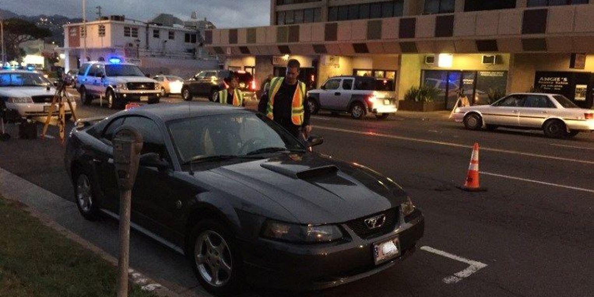 Honolulu police investigate critical pedestrian accident in Kapahulu