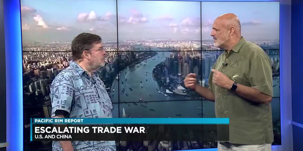 Pacific Rim Report: Escalating trade war with China