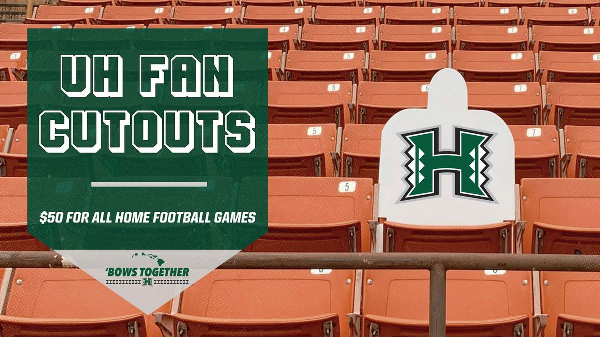 UH offers fan cutouts at 2020 home games
