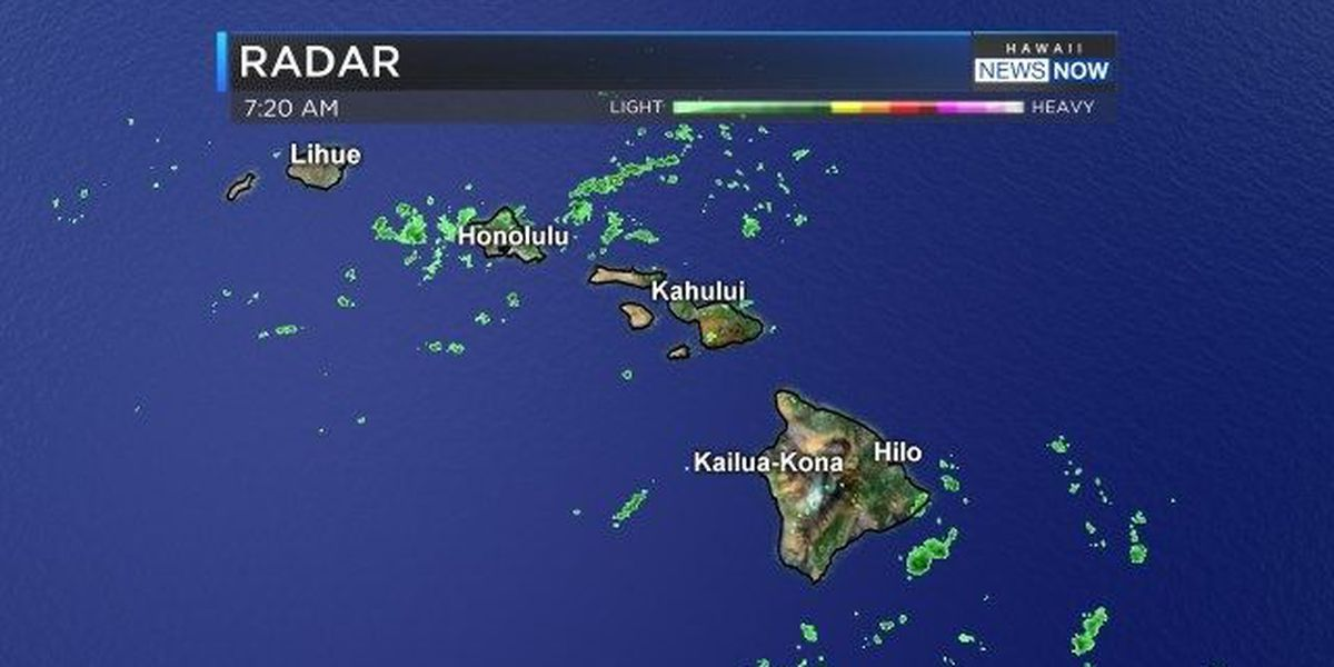 Forecast: Wet morning across Oahu, but drier afternoon expected