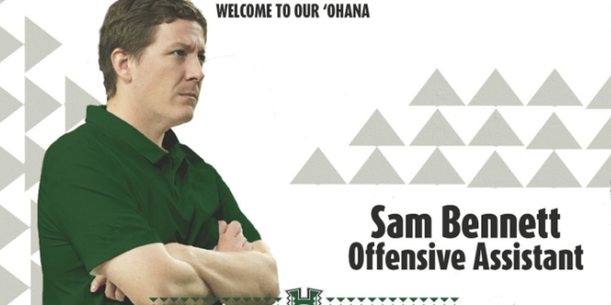 Sam Bennett joins UH staff as offensive assistant