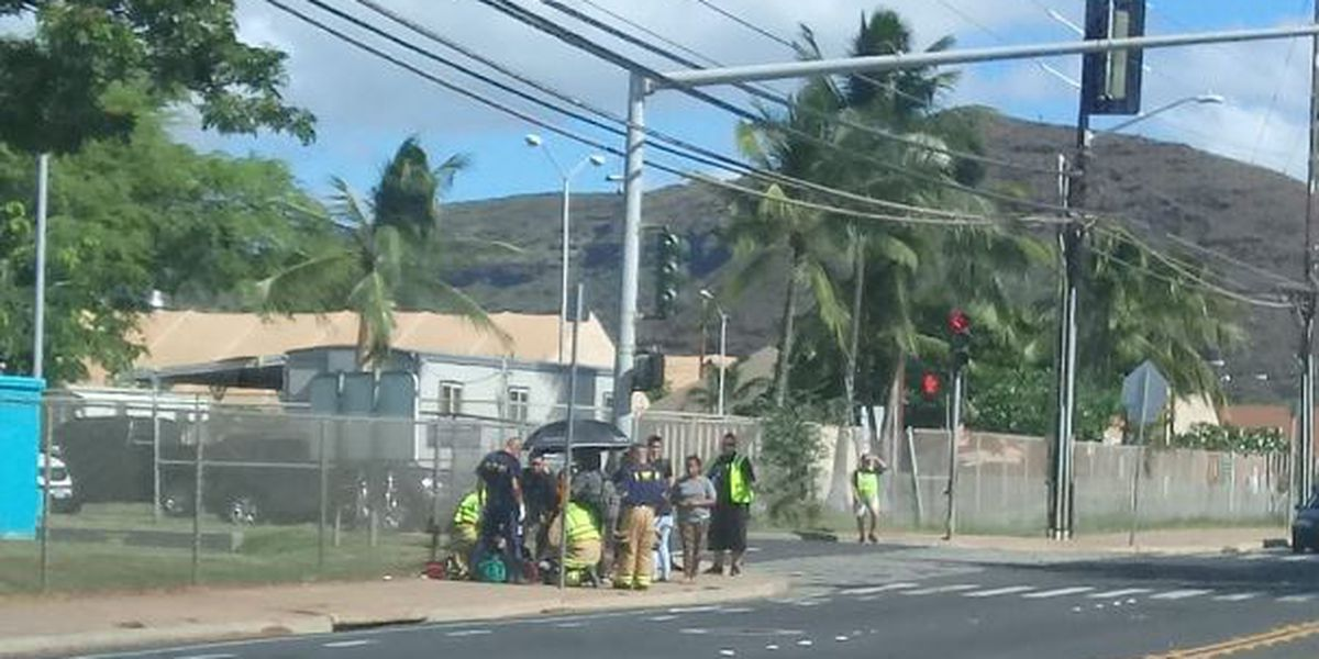 Driver flees after hitting 14-year-old pedestrian in Waianae