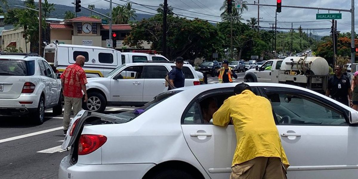 'Absolutely crazy' police chase on Big Island leaves several cars damaged
