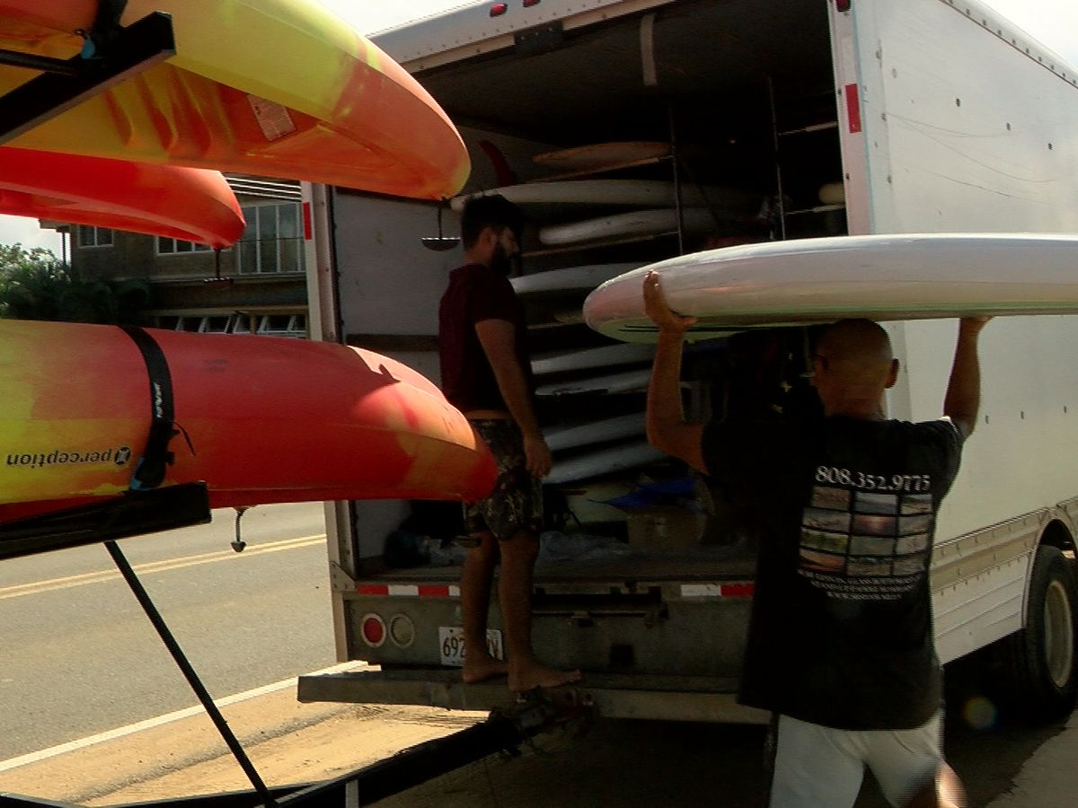 Hawaii Strong: To stay afloat, Haleiwa water sports company rolls with pandemic tide
