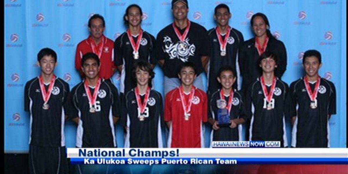 Hawaii team claims national title