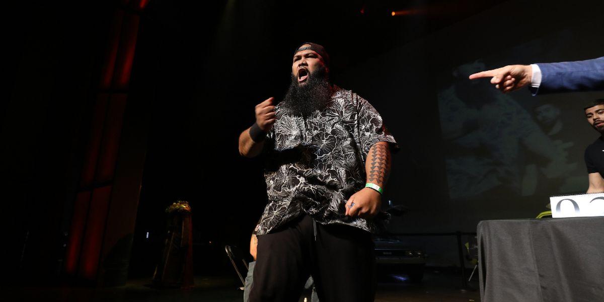 'Da Crazy Hawaiian' looks to be a trailblazer in the world of slap fighting