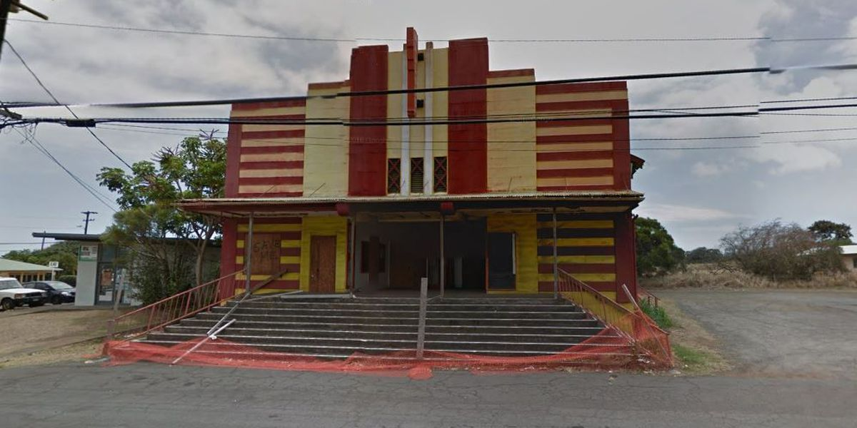 Historic Big Island theater falls into severe disrepair
