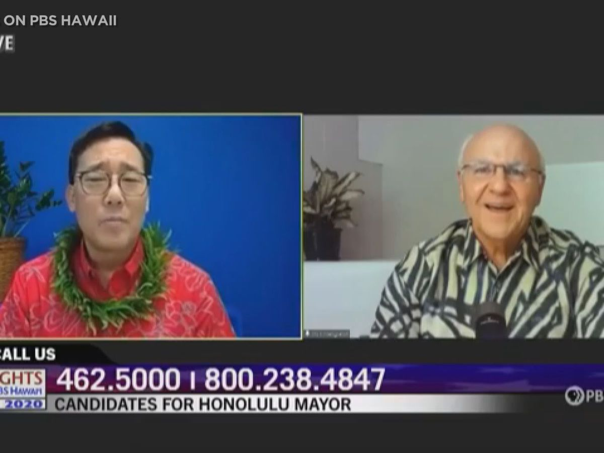 Tensions high in race for Honolulu mayor as Amemiya compares Blangiardi to Trump