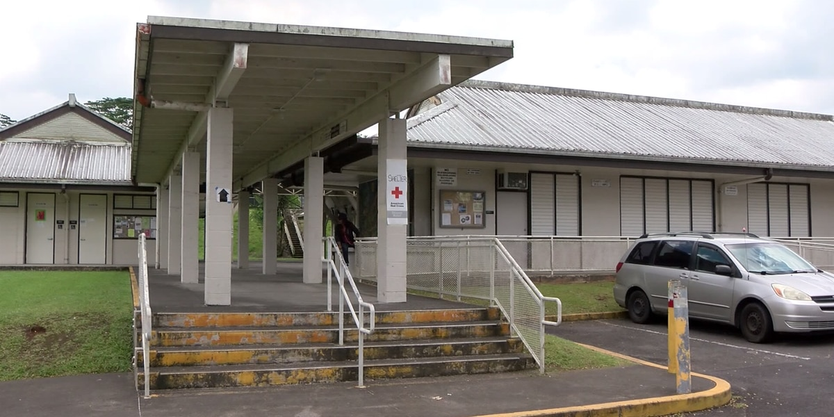 After serving as a lava evacuation center, Pahoa District Park to reopen for public use