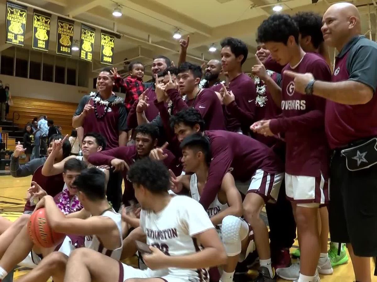 Farrington edges out Kaiser, 56-43, to win OIA DII title
