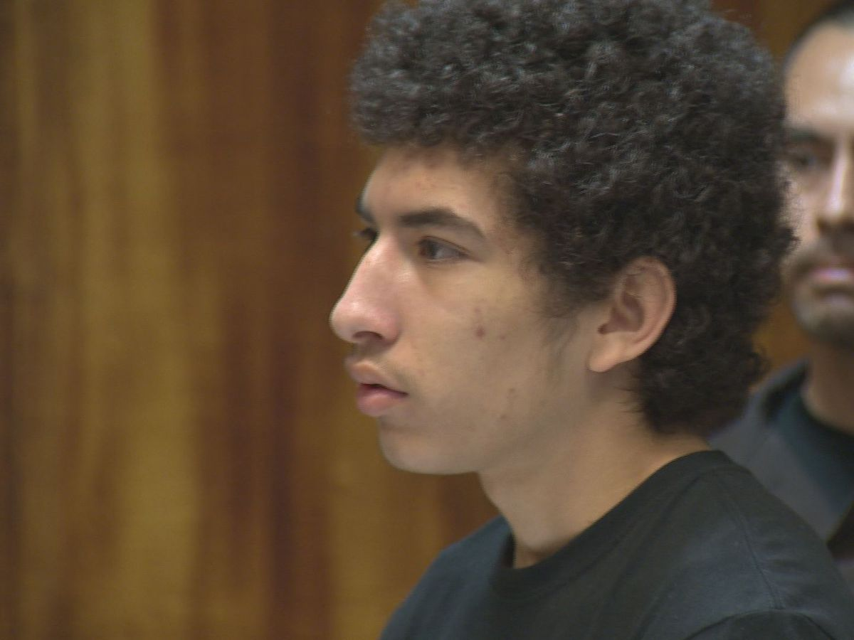 Teen accused in fatal stabbing of Marine pleads not guilty