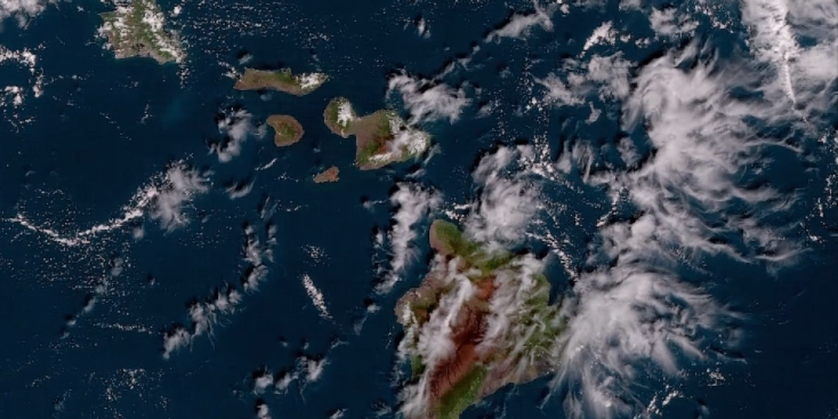 New NOAA weather satellite captures first high-resolution image of Hawaii