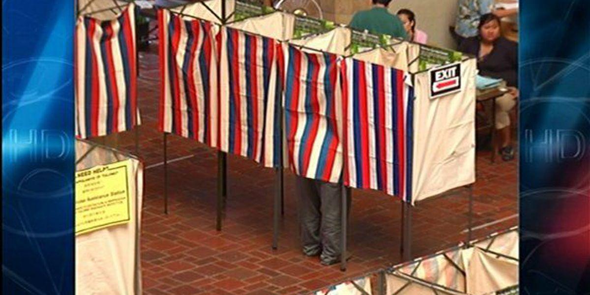 Walk-in voting starts at Honolulu Hale