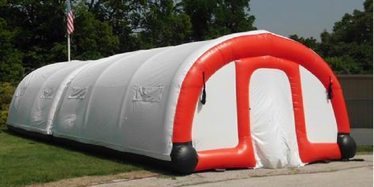 Giant inflatable tents for the homeless could be coming to a park near you