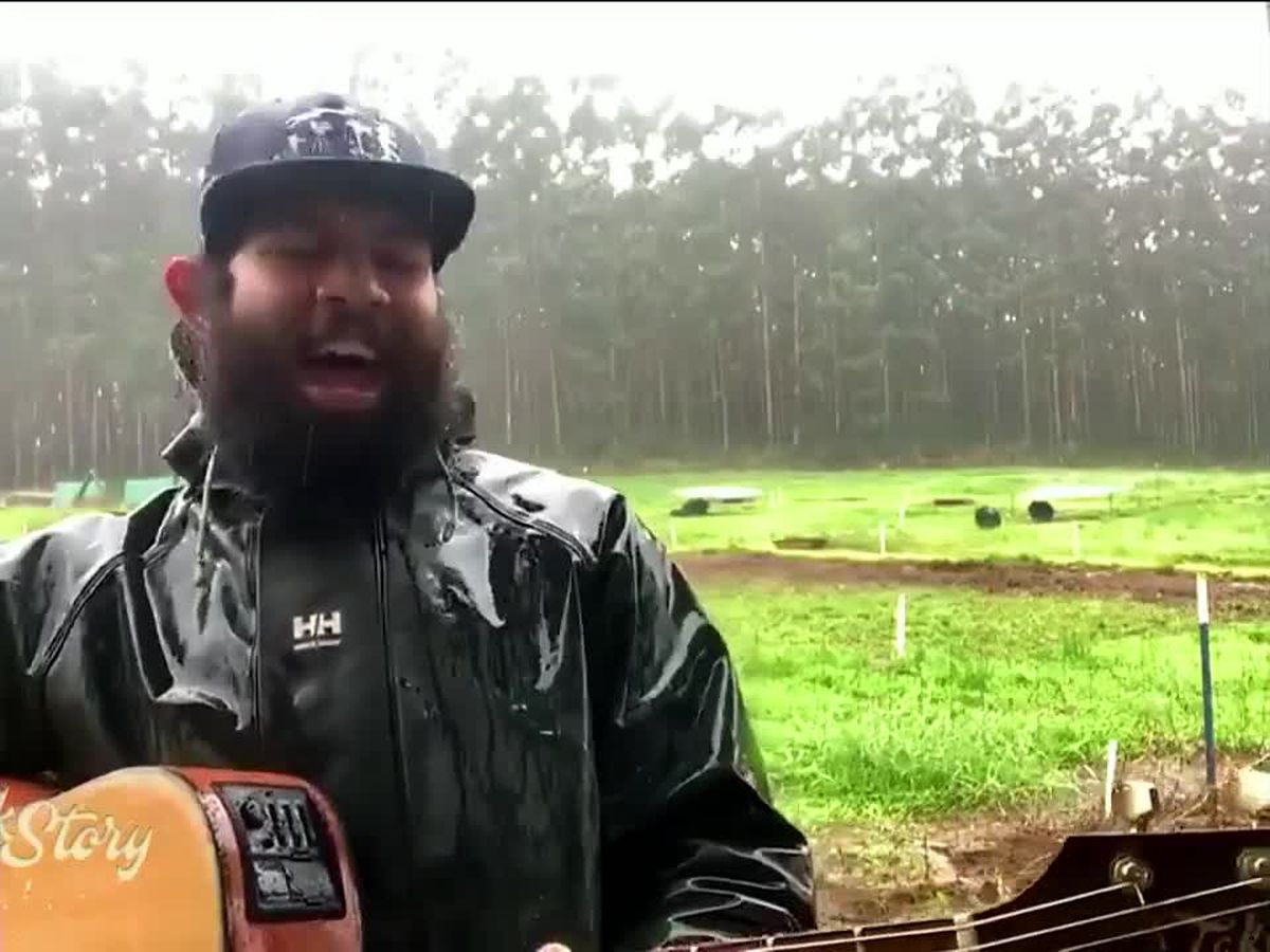 Ka'ikena Scanlan performs his #1 hit Perfarmer live from Kaunāmano Farm on Talk Story