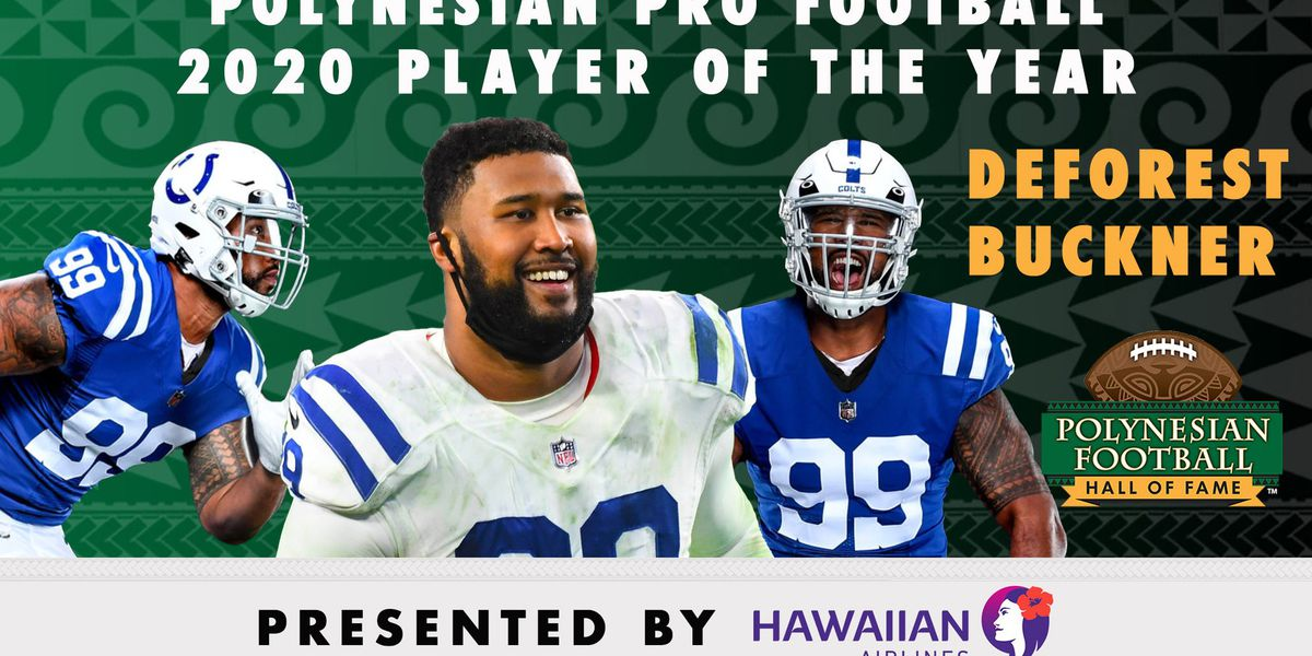 Hawaii's DeForest Buckner named 2020 Polynesian Pro Football Player of the Year