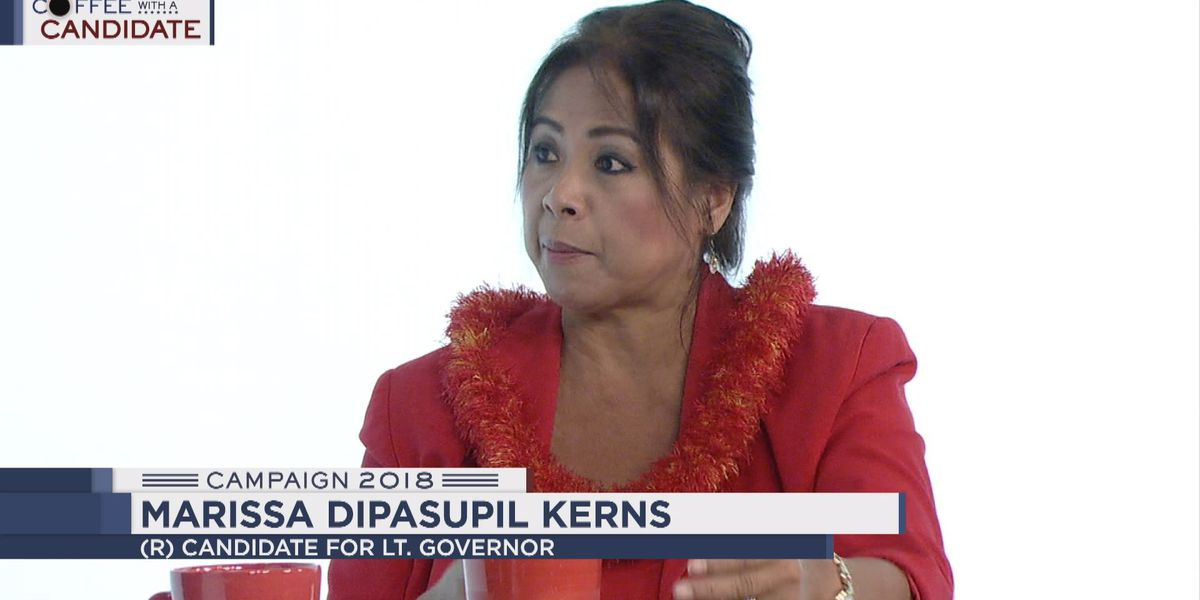 Coffee with a Candidate: Republican candidate for lieutenant governor Marissa Dipasupil Kerns