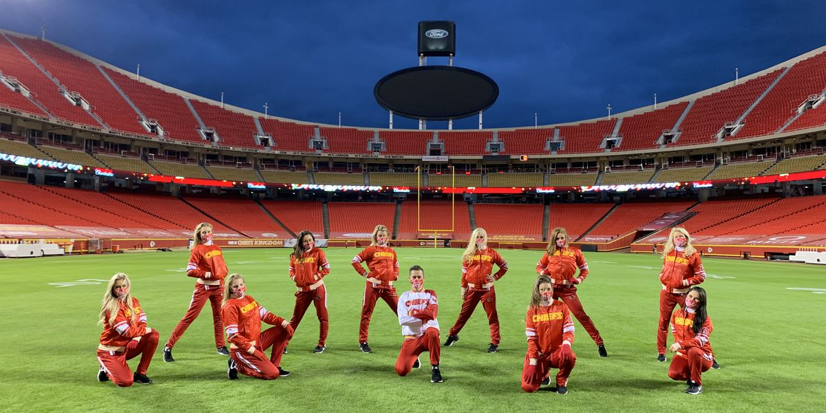 Trading a stage for a field, former Miss Hawaii is an NFL cheerleader for Kansas City