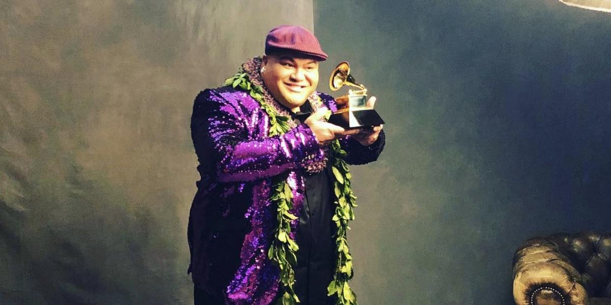 Hawaii musician Kalani Pe'a triumphs (again!) at 2019 Grammy Awards