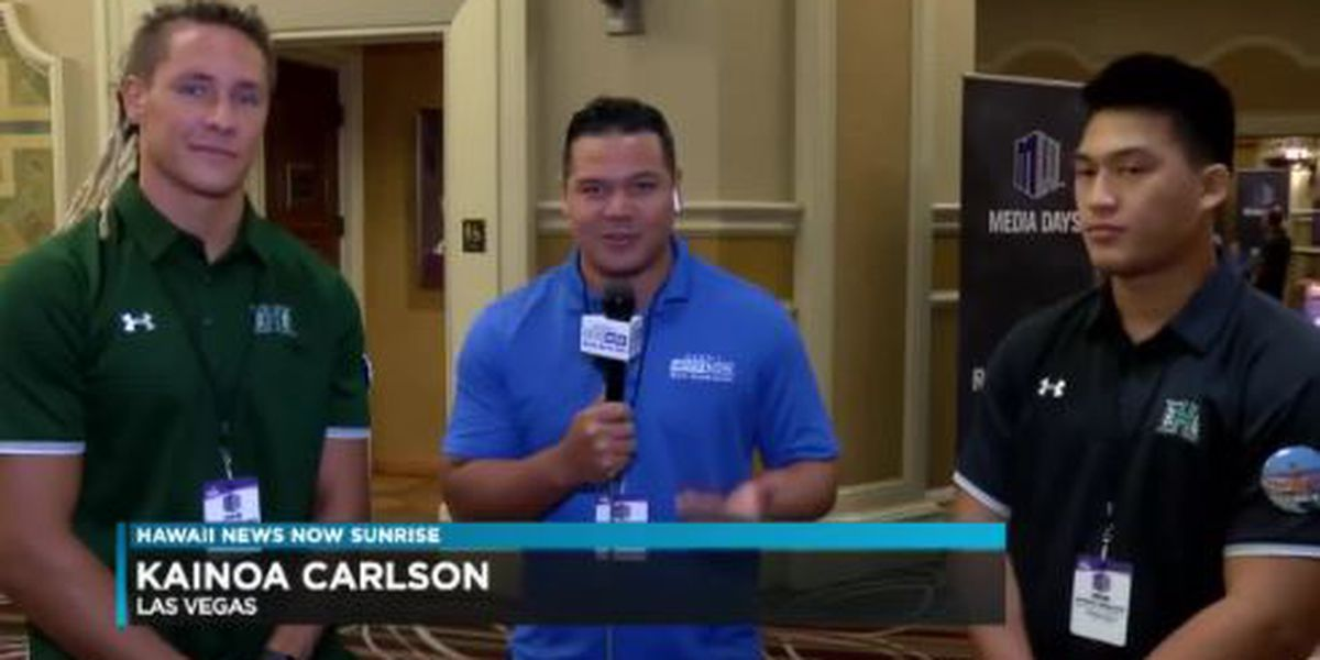 Warriors join Sunrise during Mountain West Media Day