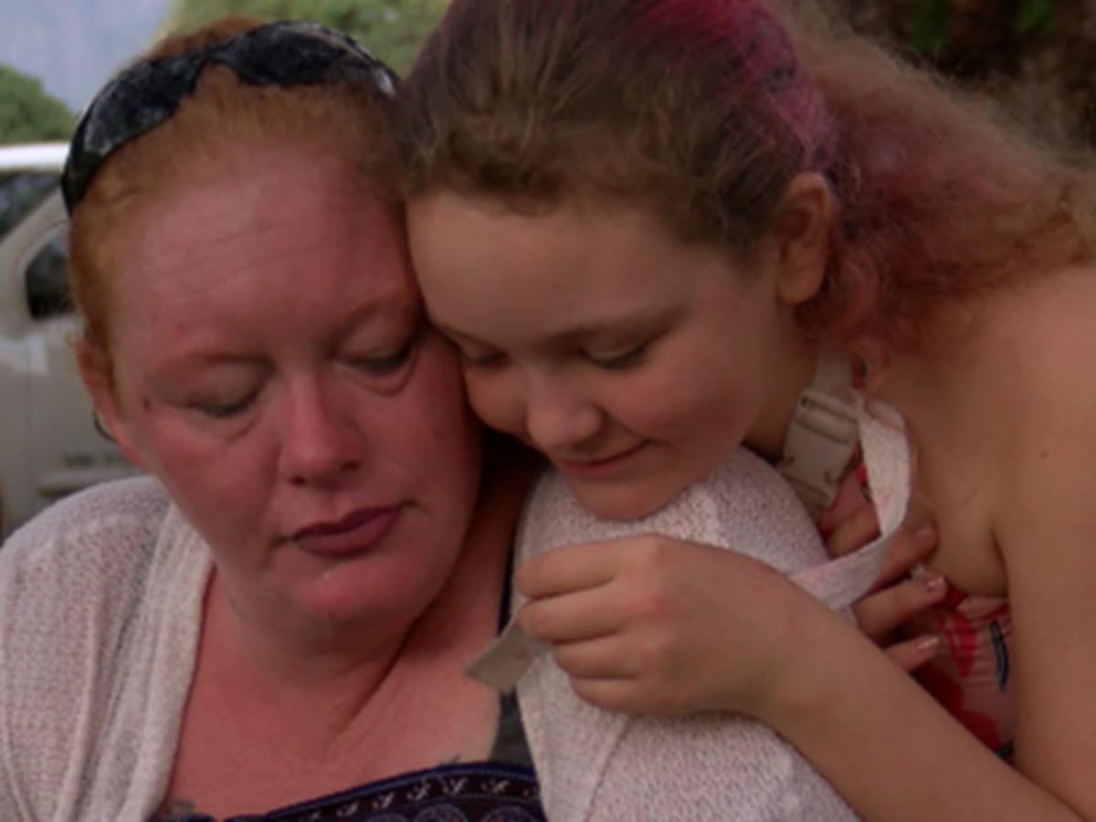 Mother pleads for help finding driver who ran her and her daughter over in Waianae