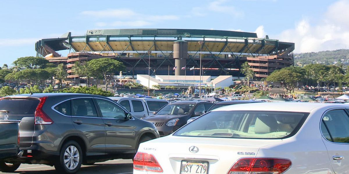Officials unveil 3 options for eventual Aloha Stadium replacement