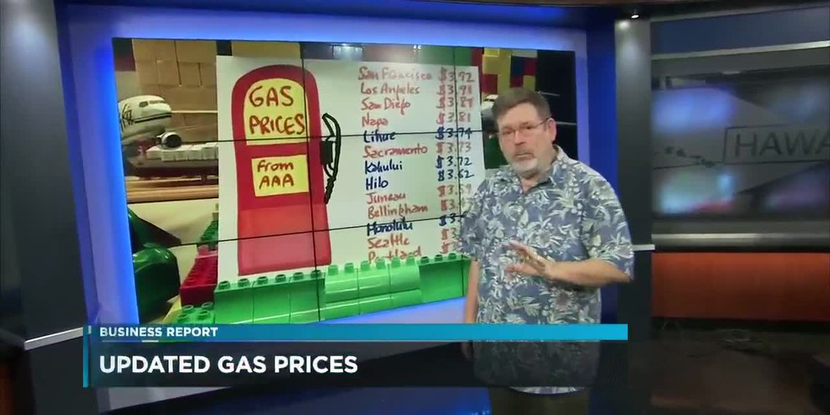 Business Report: Updated gas prices across the nation