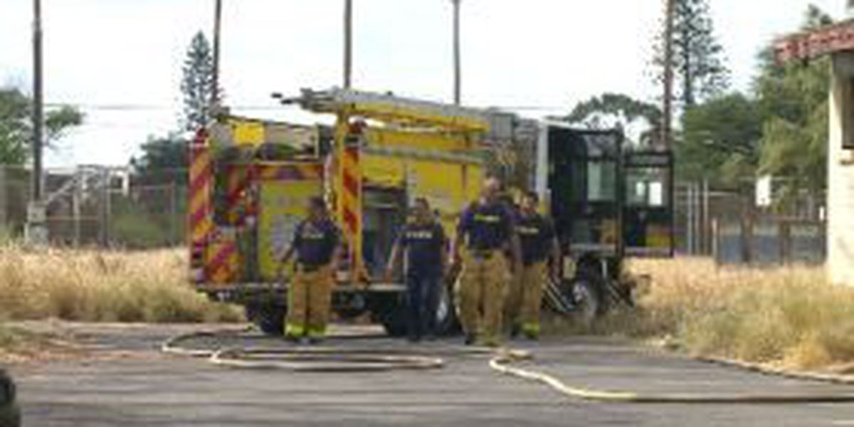 Kapolei structure fire causes $100,000 in damages