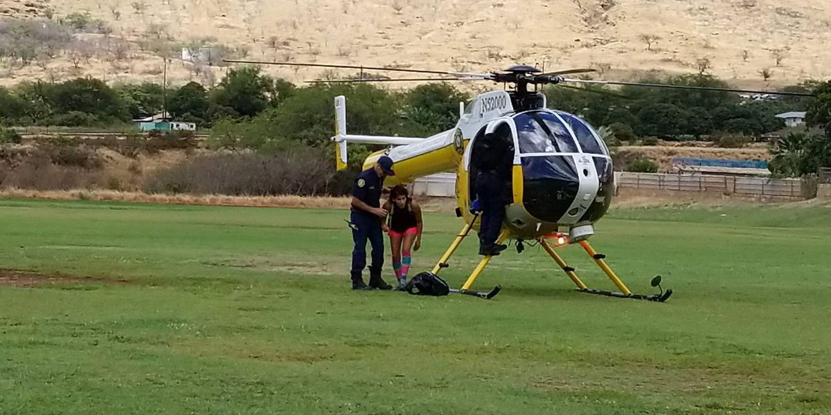 HFD rescues hiker injured after electric shock, 30-foot fall