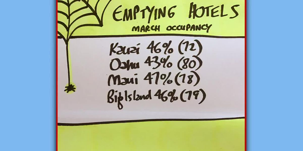 Business Report: Hawaii hotel occupancy for March 2020