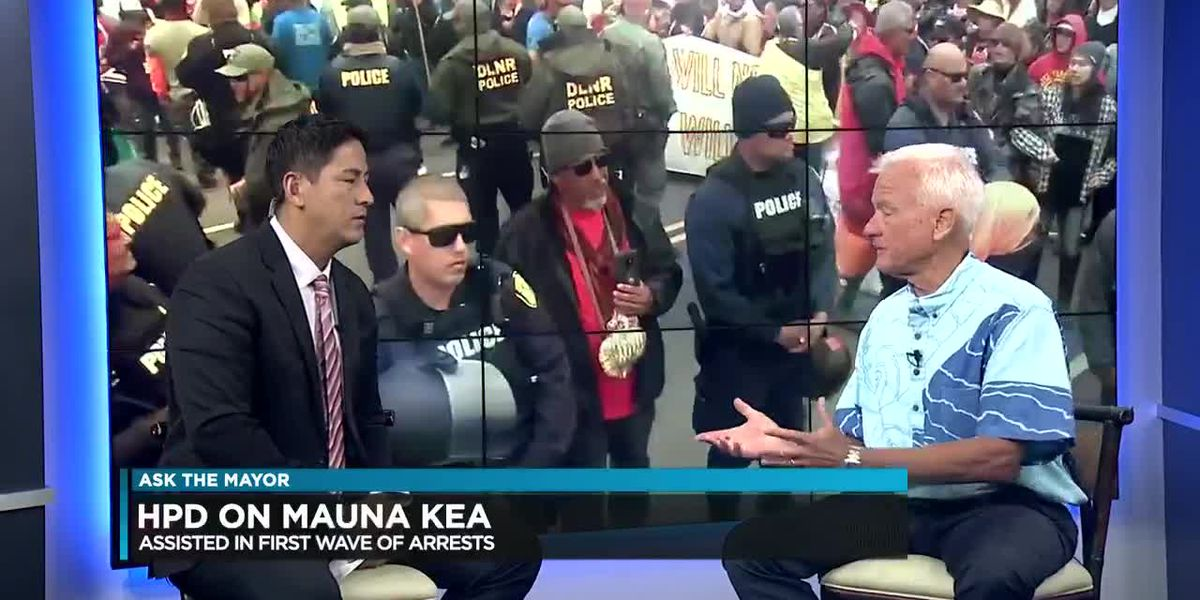 Ask the Mayor: HPD on Mauna Kea, Dissolving HART and Climate Change