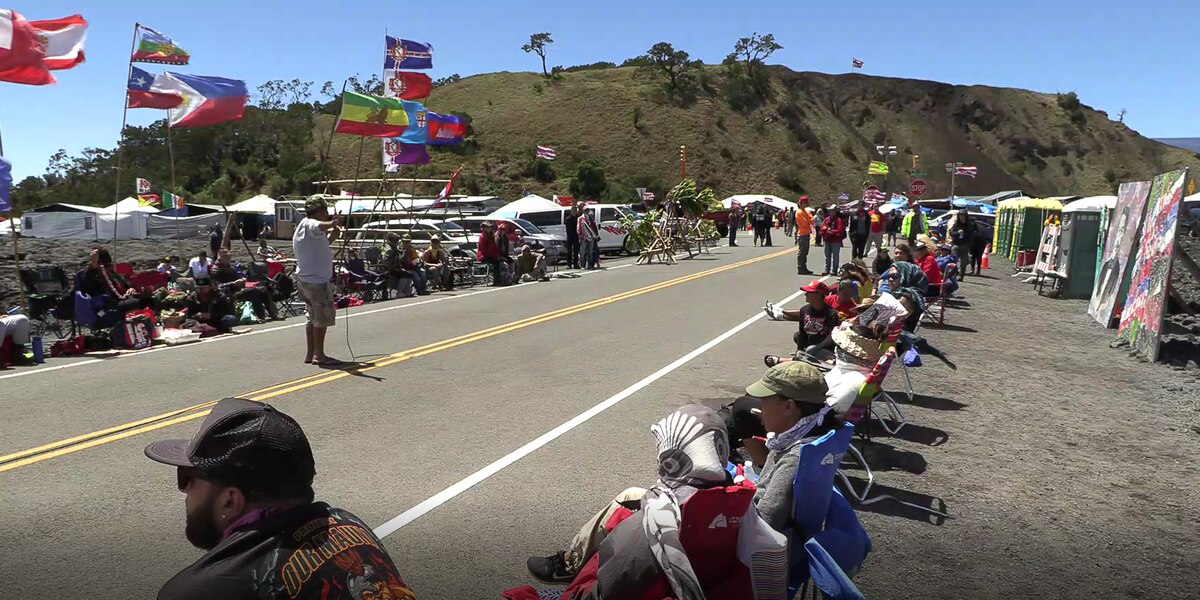 Mayor Kim reassures protesters that TMT equipment won't be snuck up the mountain