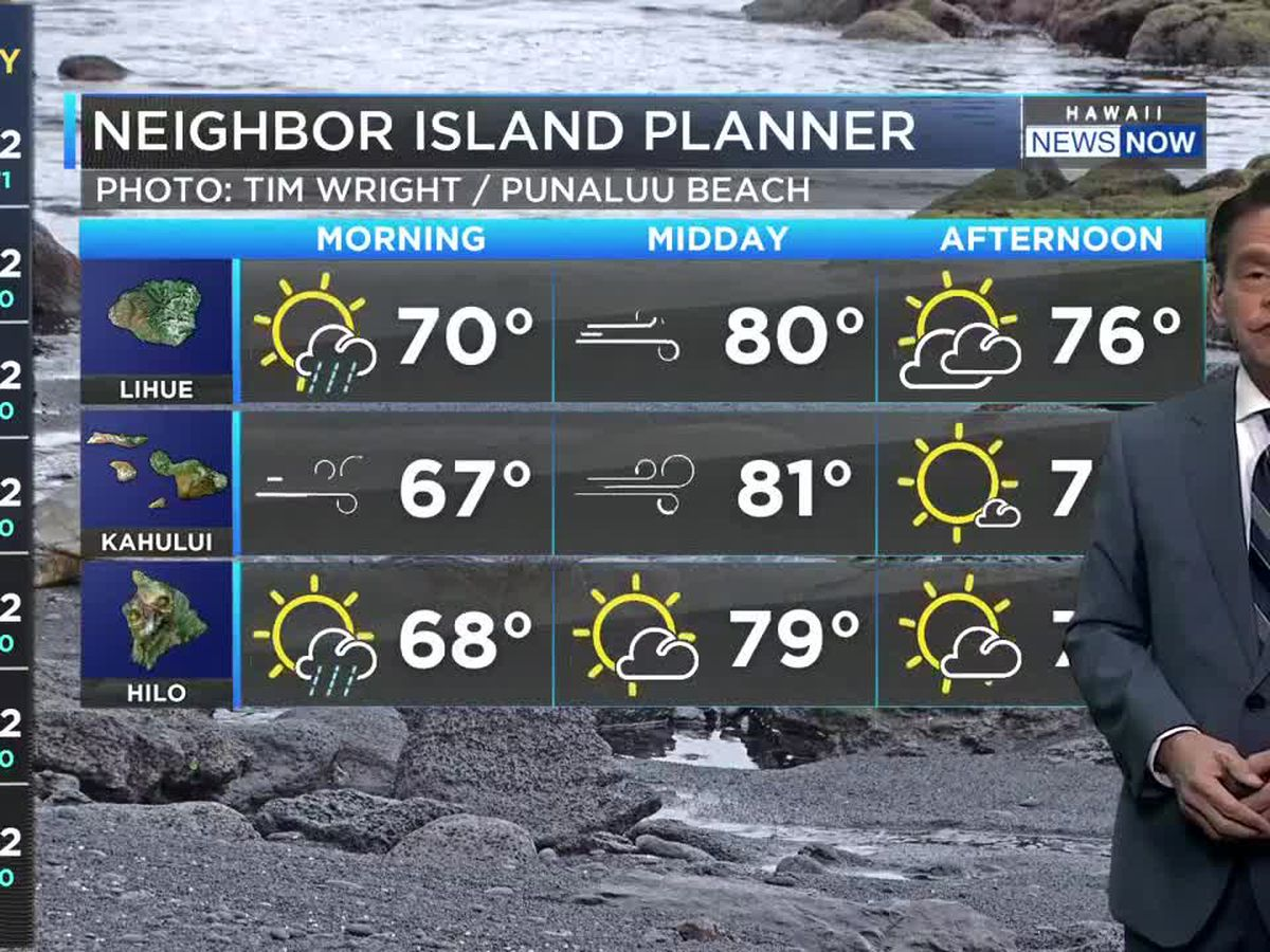 Forecast: Stronger trades, rising surf on the horizon