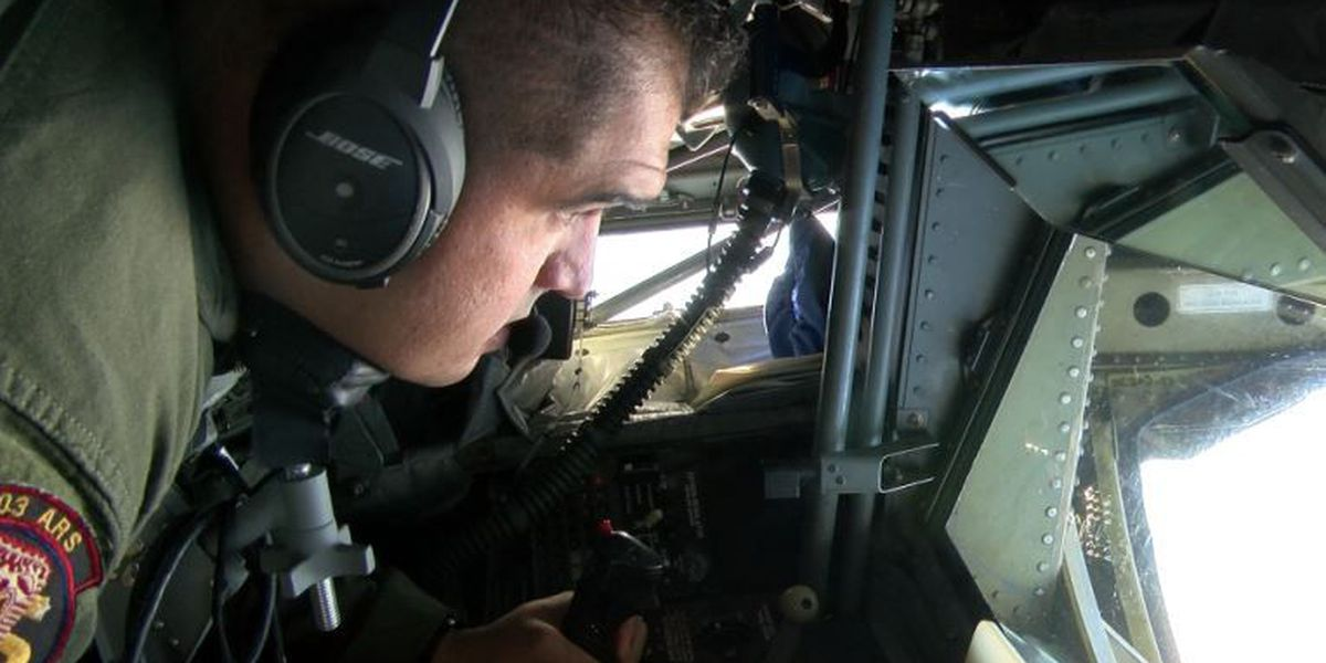 Hawaii's Air National Guard is always training, including for this ballet at 25,000 feet