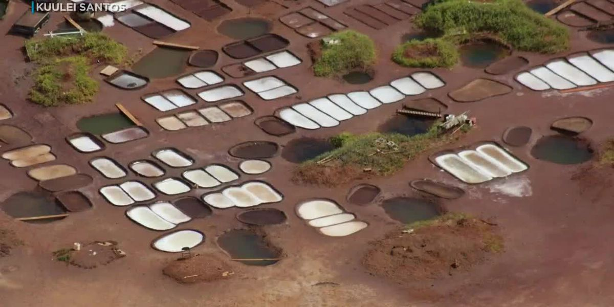 Hanapepe's salt farming families fight expansion of nearby helicopter tour company