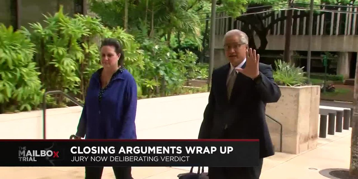 With closing arguments complete, jurors in Kealoha 'mailbox trial' begin deliberations