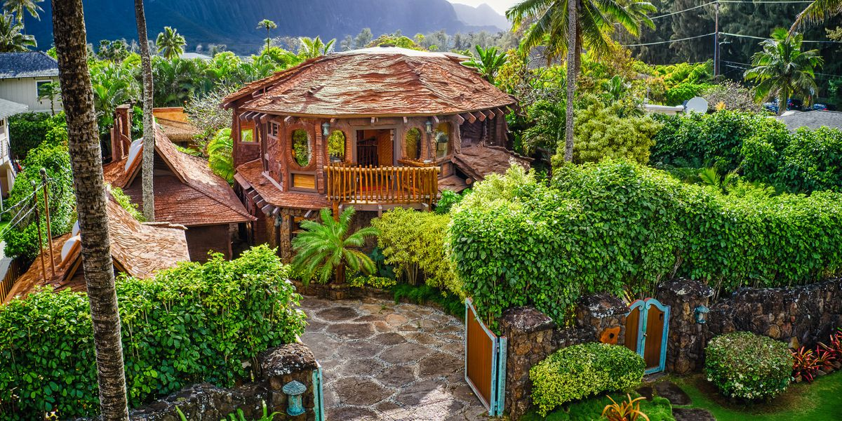 Dubbed the 'Hobbit House,' this storybook home in Waimanalo is on the market