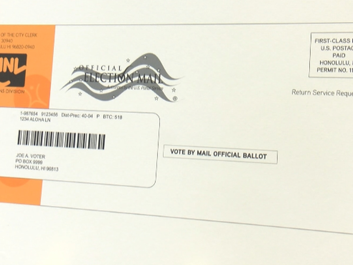 Elections officials remind Hawaii voters they don't need to request ballots