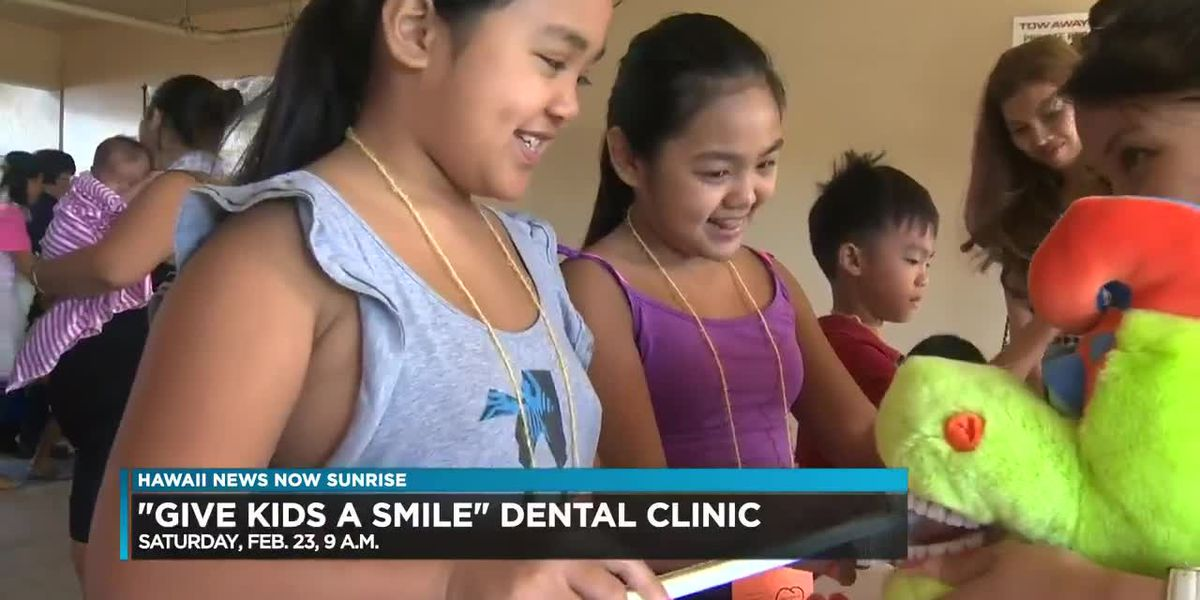 Annual Give Kids a Smile dental clinic this weekend