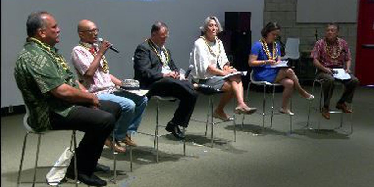 Candidates debate energy, climate issues in last major public forum before primary election