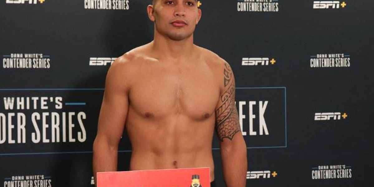 Soriano earns UFC contract with win on Dana White's Tuesday Night Contender Series
