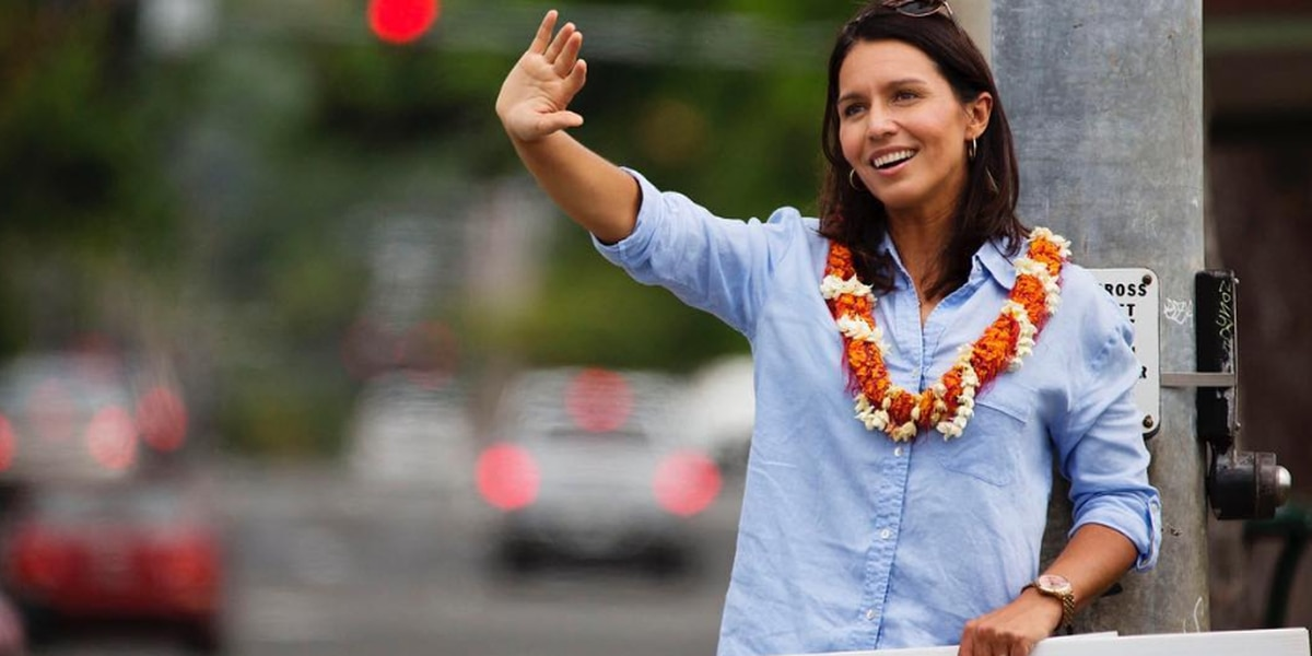 Gabbard's first 2020 presidential campaign event set for Saturday